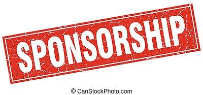 sponsorship square stamp