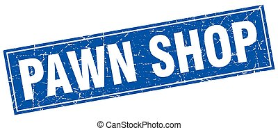 pawn shop square stamp