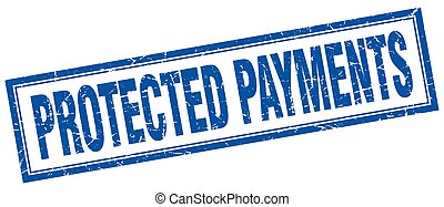 protected payments square stamp