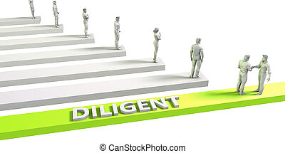Diligent Mindset for a Successful Business Concept