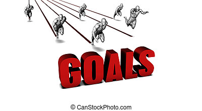 Better Goals with a Business Team Racing Concept