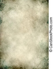 Blank grunge paper textured scratched background - Vertical...