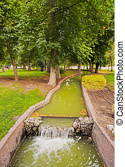 Retiro Park in Madrid - Spain, Madrid, View of the Retiro...