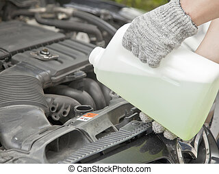 coolant - Antifreeze, coolant check service diy