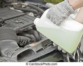 coolant - Antifreeze, coolant check service diy