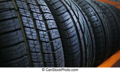Car tyres at store - winter car tyre at store