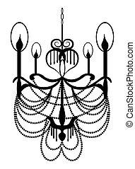 NeoClassic Modern chandelier