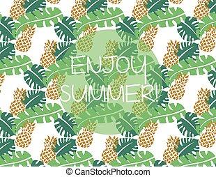 Summer pattern background