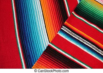 Cinco de mayo Mexican Mexico rug poncho fiesta background...