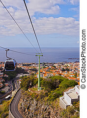 Funchal - Portugal, Madeira, Funchal, View of the...