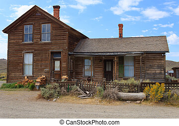 Bodie ghost town - View from Bodie Ghost Town, California...