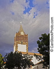 Funchal - Portugal, Madeira, Funchal, View of the Cathedral...