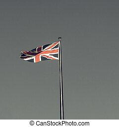 Vintage looking UK Flag