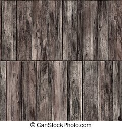 Raster Seamless Wooden Bark Floor Texture