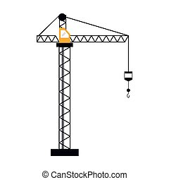 crane hook construction machine