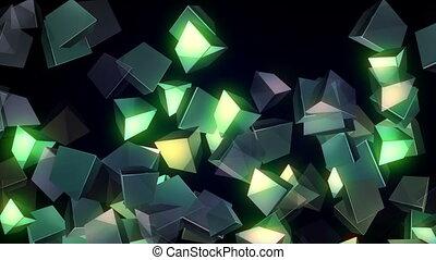 Glowing Cubes Vj Loop