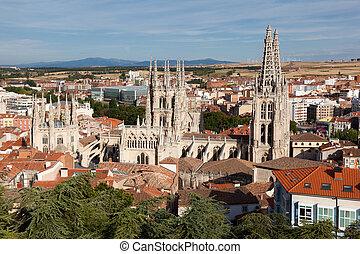 Cathedral of Burgos, Castilla y Leon, Spain - Cathedral of...