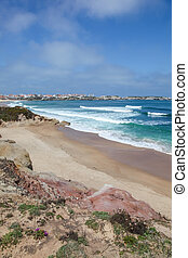 Baleal - Peniche - Portugal - Lagido Surf Break at Baleal....