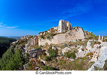 Saladin Castle Syria - Historic remains of the once mighty...