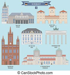 Famous Places in Germany: Town Hall, Cologne; Town Hall,...