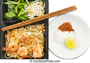Thai style stir fried noodles