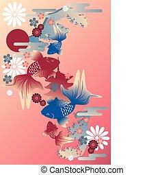 Goldfish - Japanese style