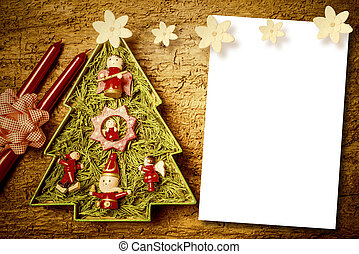 Christmas cards, blank space. - Chtistmas letters, cute...