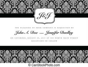 Vector Small Title Frame and Pattern - Ornate small frame...