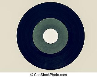 Vintage looking Vinyl record 45 rpm - Vintage looking Single...