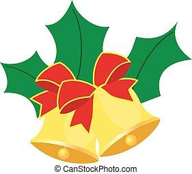 Bells - vector Christmas bells