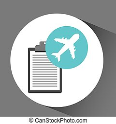 man delivery checking airport transport delivery vector...