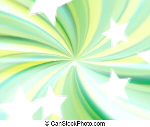 Seamless stars with sunburst - Sun burst with stars, PAL...