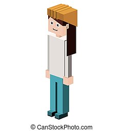 lego female silhouette worker with helmet vector...