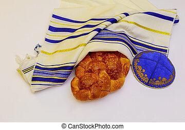 Jewish holiday Sabbath Prayer Shawl Tallit jewish religious...