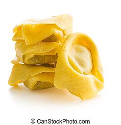 Italian traditional tortellini pasta. - Italian traditional...