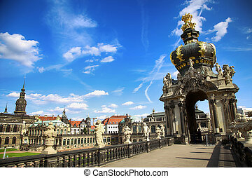 Dresdner Zwinger in Dresden, Germany