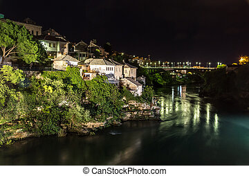 Mostar, Bosnia and Herzegovina - Mostar in a beautiful...