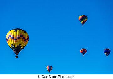 Albuquerque Hot Air Balloon Fiesta 2016 - Hot Air Balloons...
