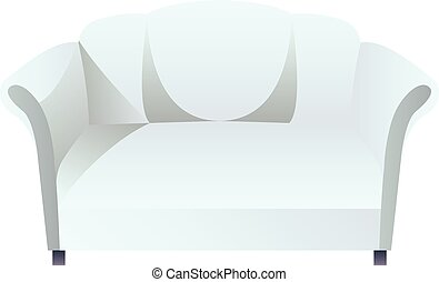 Couch blank - Vector isolated couch blank