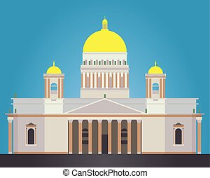 Saint Isaac's Cathedral - Vector Saint Isaac's Cathedral