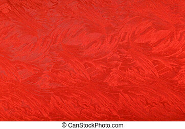 Metallic paper background - Glittery and textured red...
