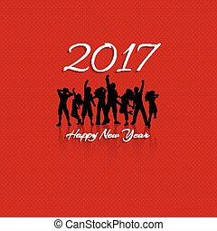 happy new year party background 1711
