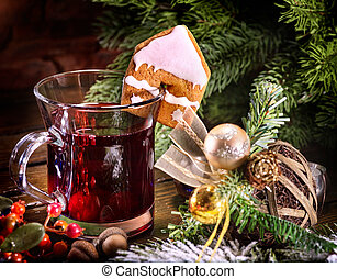 Traditional drink during winter especially around Christmas....