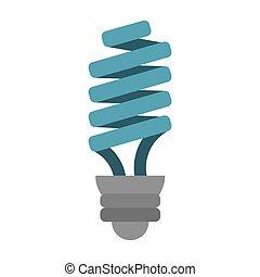 energy saving lamp light bulb vector illustration eps 10