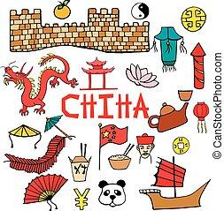 中国語, 特徴, 背景, サイン