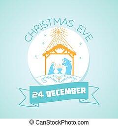 24 December Christmas Eve - Calendar for each day on...
