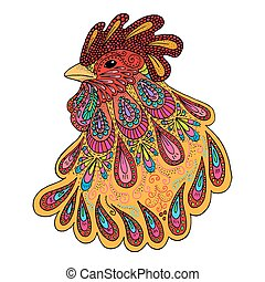 Symbol of the year 2017 - Rooster - Rooster - symbol of the...