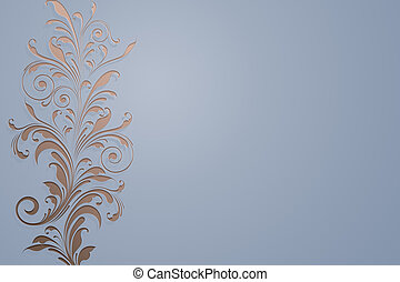 floral bg - An image of a nice abstract floral background