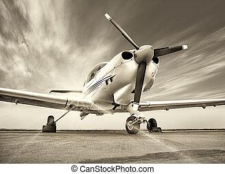 飛機, 運動