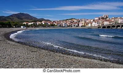 Banyuls-sur-Mer, Languedoc-Roussillon in France